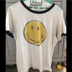 Daydreamer for Free People smiley tee